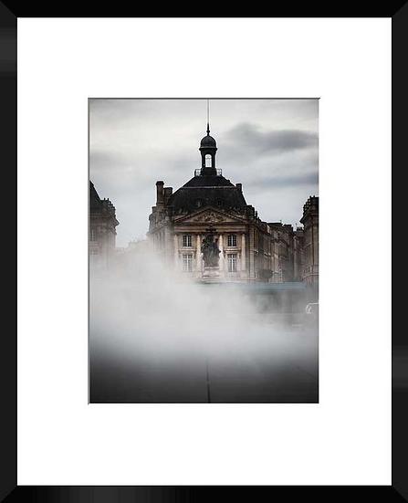 """Photo encadrée """" La Bourse"""" 50x40"""