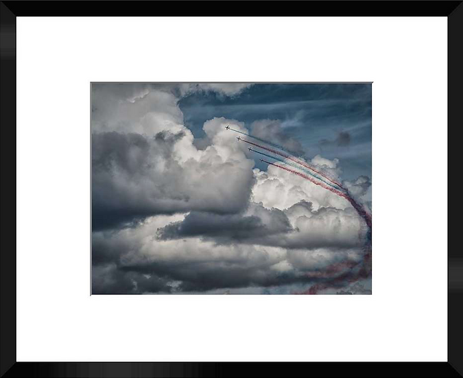 """Photo encadrée """"La Patrouille de France"""" 50x40"""