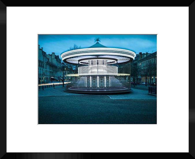 """Photo encadrée """"Tounez Manège"""" 50x40"""