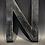 "Thumbnail: Lettre ""N"" noir"