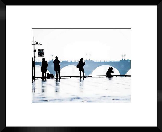 """Photo encadrée""""Ombres Chinoises"""" 50x40"""