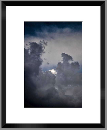 "Photo encadrée ""Cloud"" 50x40"
