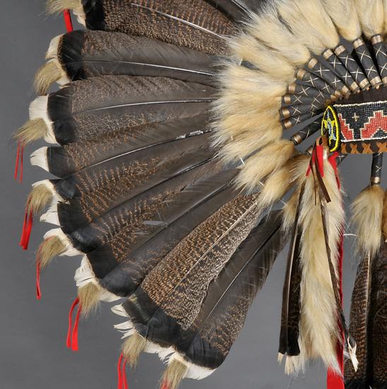 Coiffe de guerre Sioux