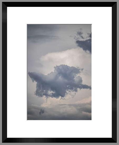 """Photo encadrée """"Cloud"""" 50x40"""