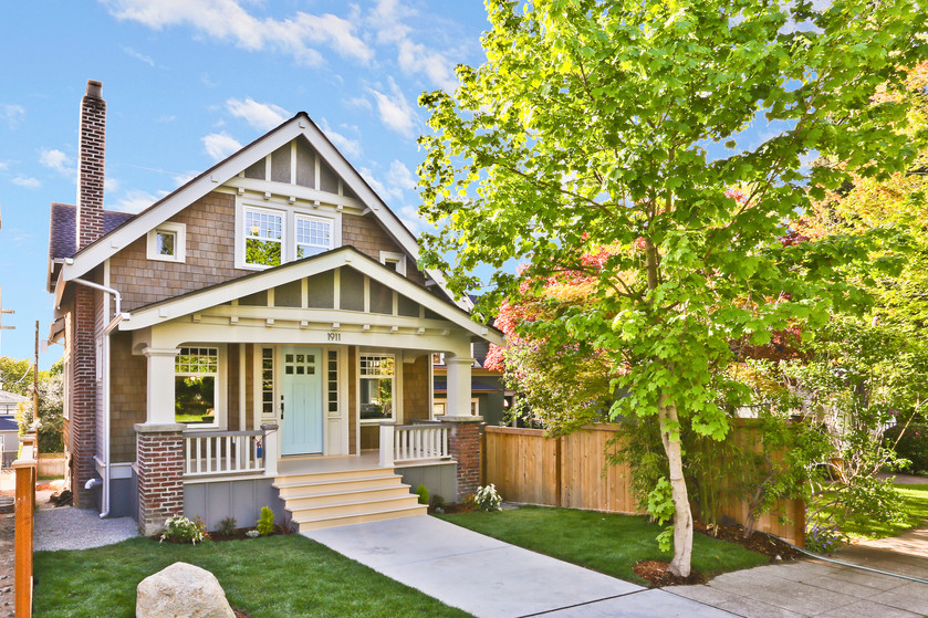 Luxury and tradition meets perfectly in this beautiful Craftsman in Queen Anne