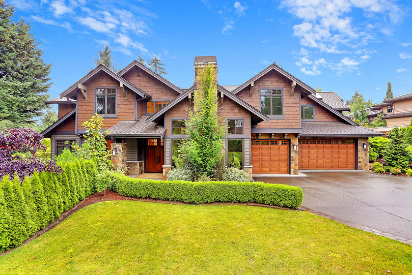 Gorgeous Clyde Hill home with oasis like yard, with own creek, with, with, with...