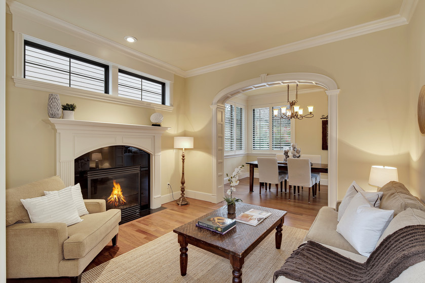Luxurious details abound in this spacious Laurelhurst home.