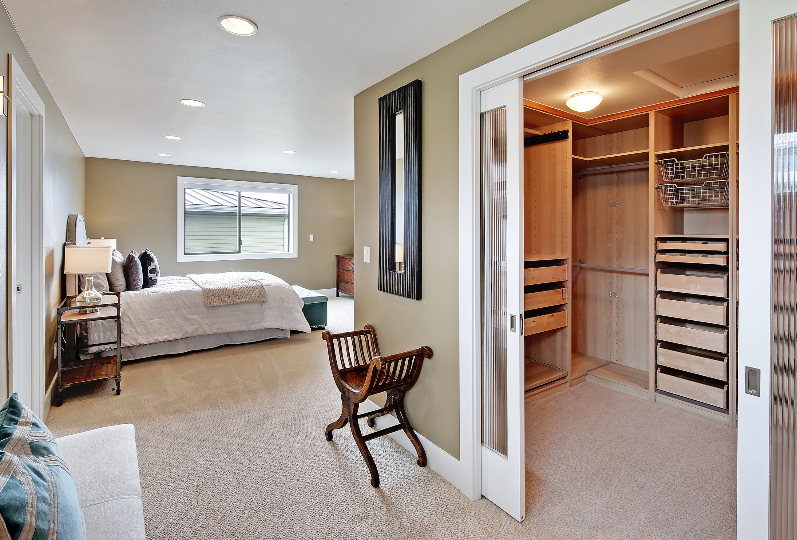 Modern Home Master Bedroom