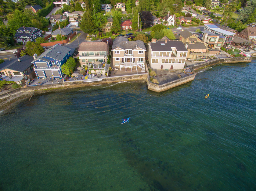 This waterfront estate has one of the most coveted address in Seattle