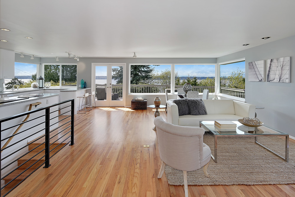 Seattle Real Estate Photography Shot2Sell Three Tree Point Burien Water View