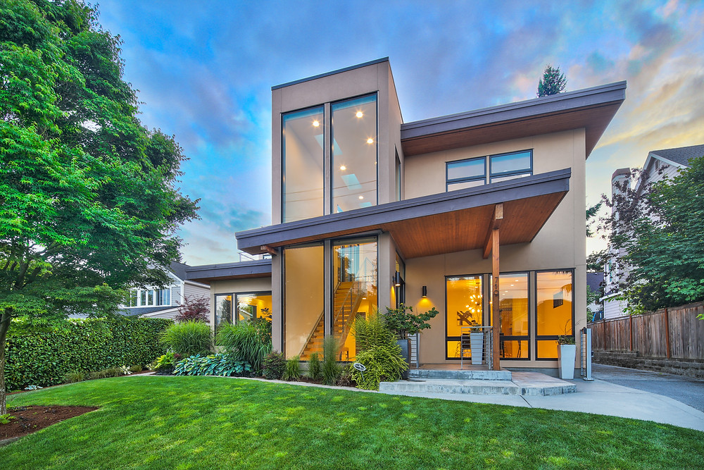 Shot2Sell Christophe Servieres Seattle Real Estate Photographer Luxury Home Bellevue Modern Architecture