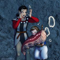 Ruiza, try the giant Calamari!