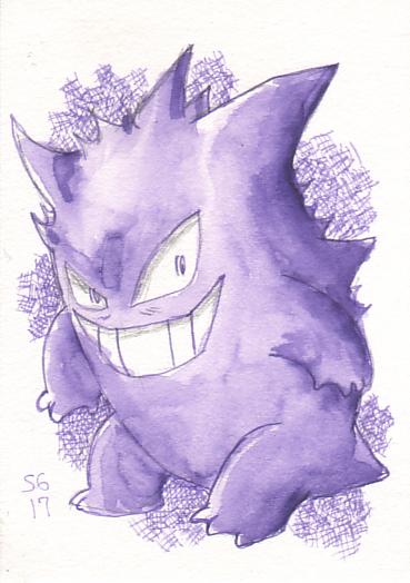 Purple Gengar