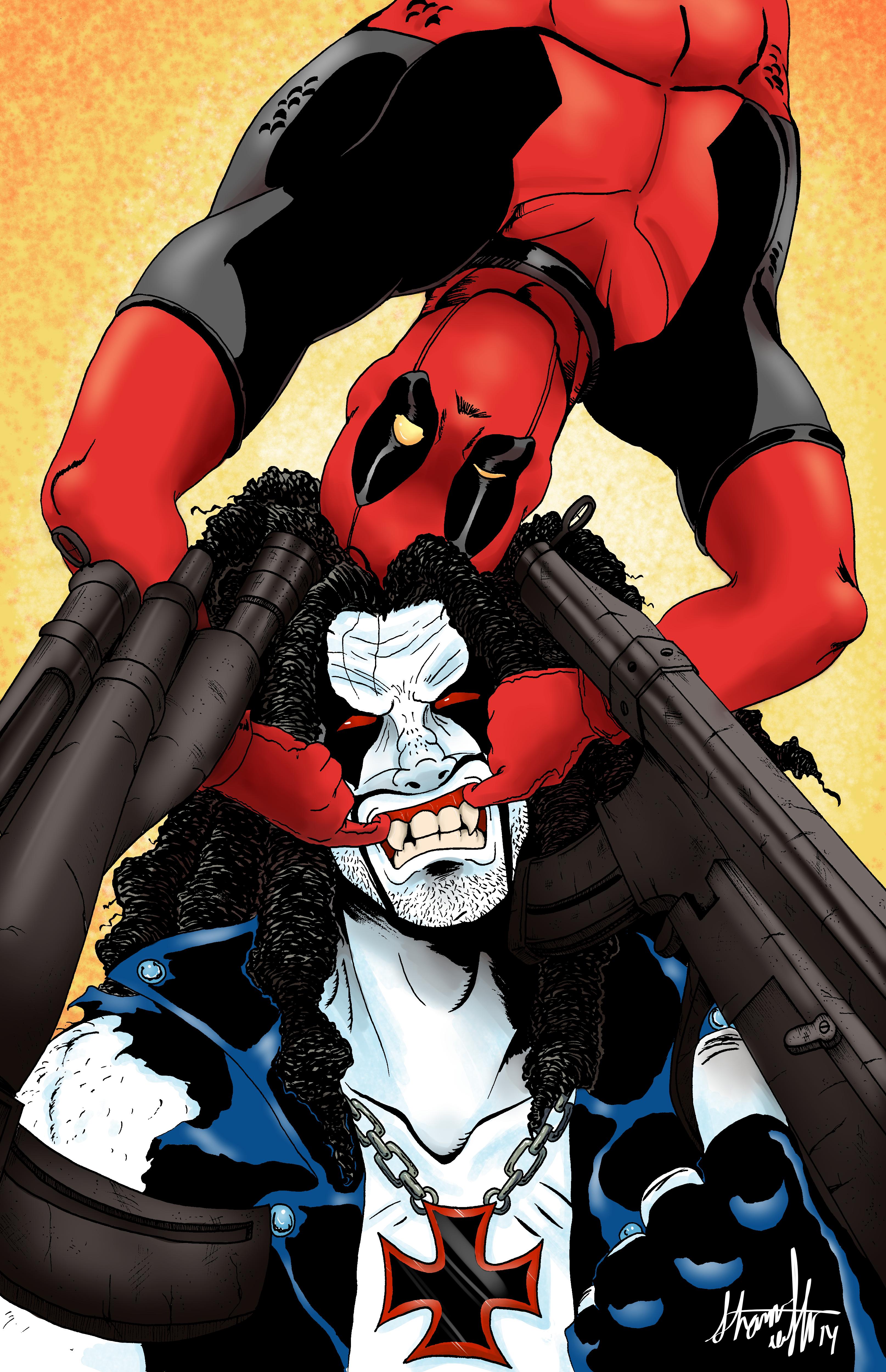 Lobo X Deadpool