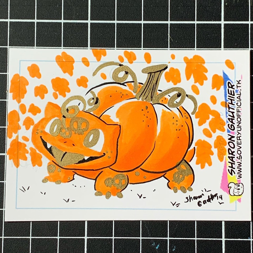 Pumpkin Bulbasaur 1