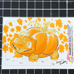 Pumpkin Bulbasaur 2