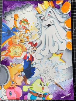 Super Mario RPG Original Art