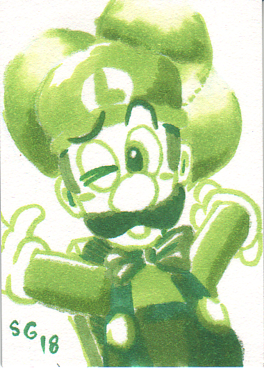 Balloon Luigi
