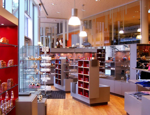 Salzbergwerk Shop