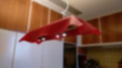 AEROMYS Spot Red Faserzementleuchte Eternit