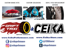 Drift Taxi Welcomes New Partner! CEIKA Performance!