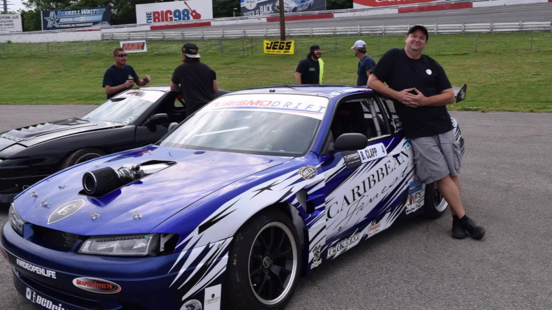 Barry Clapp at Turismo Drift