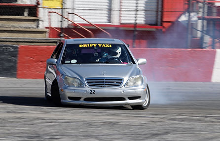 Drift Taxi's Mercedes-Benz S600 Driven by David Adams