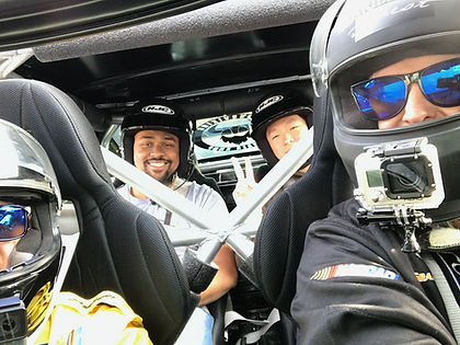 Inside Barry Clapp's Drift Taxi Before Takeoff