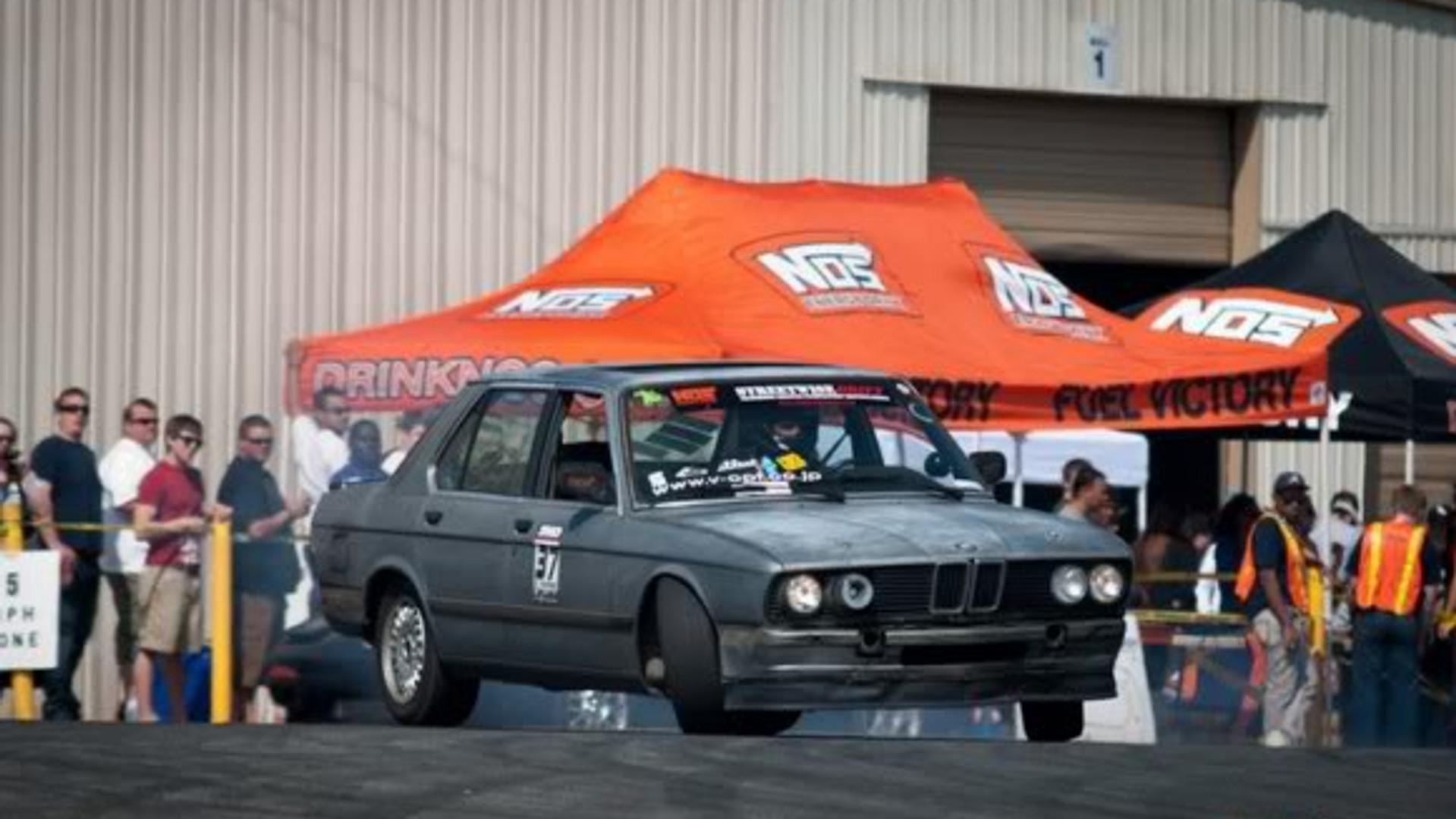 David Drifting 1985 BMW 535 at Speedwise Drift