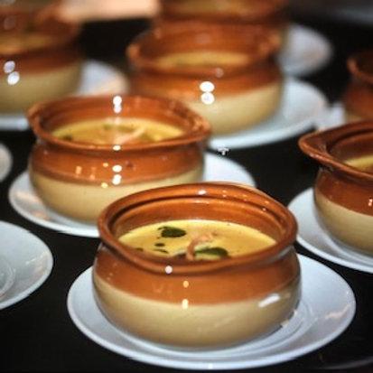 Creamy Peanut Soup / Sopa de Mani