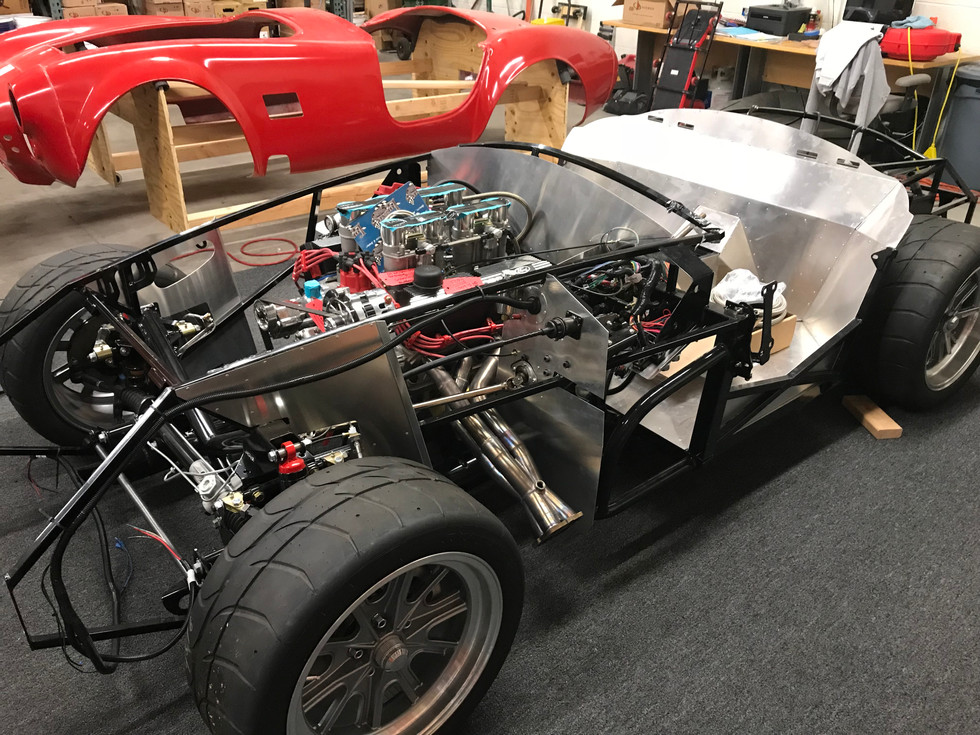427 Windosr Fit in Chassis