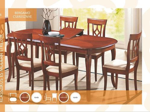Bergamo Asztal + Bergamo Szék