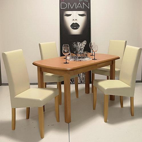 Dante Asztal + Berta Műbőr Szék