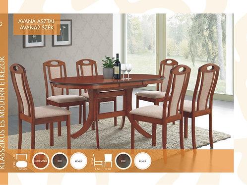 Avana Asztal + Avana2 Szék