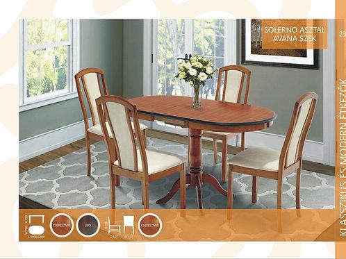 Solerno Asztal + Avana1 Szék