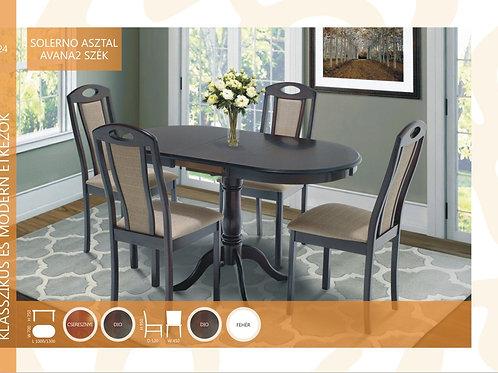 Solerno Asztal + Avana2 Szék