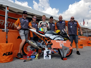 Quarterley Racing On Track Development Team Wins Championship with Benjamin Smith
