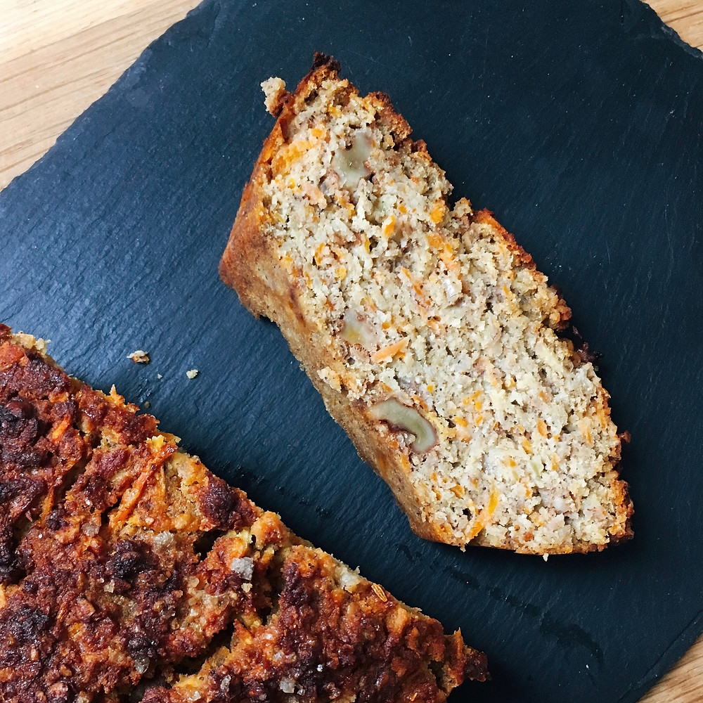 Apple and carrot loaf