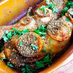 Middle Eastern spiced chicken