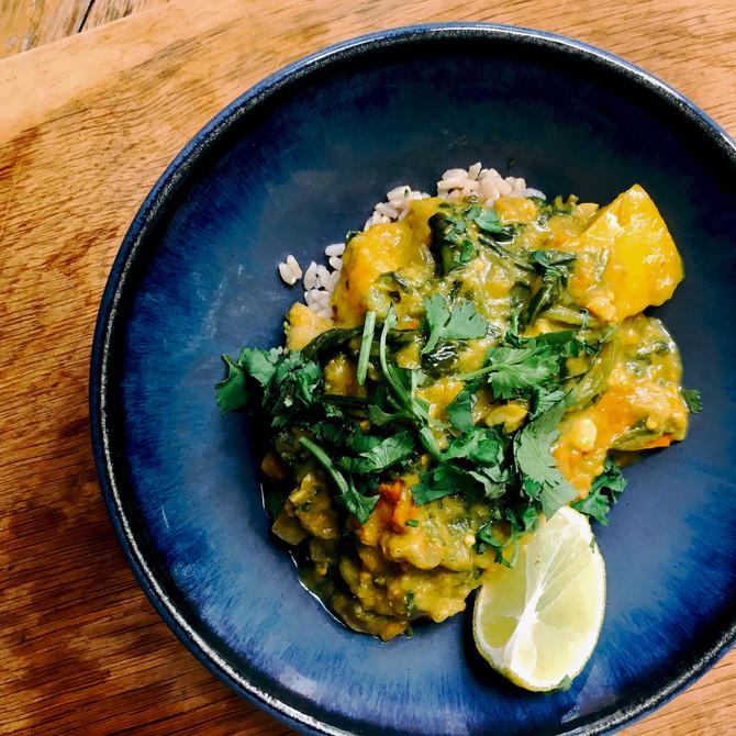 Inaugural curry
