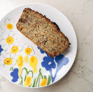 Apple and carrot paleo loaf