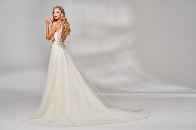 Brautkleid Prinzessin Glitzer