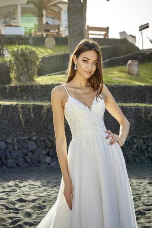 Prinzessin Hochzeitskleid A-Linie Brautk