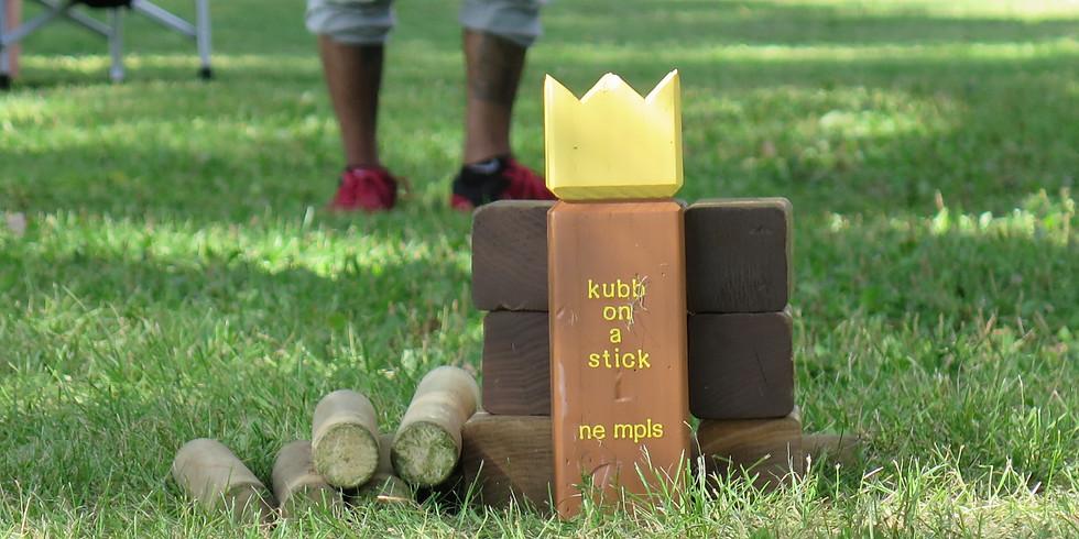 Kubb on a Stick Tournament
