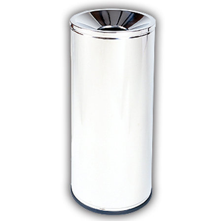 Tall Ash Tray free standing stainless steel