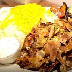 #15 – Chicken Shawarma Plate