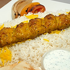 #8 - Ground Chicken Kabob - One Skewers