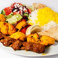 Family Meal - Chicken & Beef Kabob