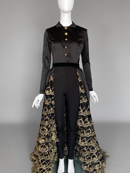 Платье-фрак с шоу Танцы на ТНТ