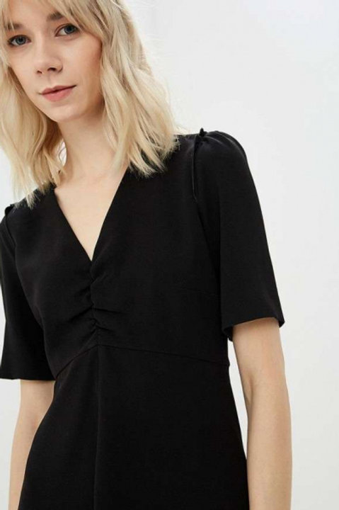 Weekend Max Mara платье с коротким рукавом (черный)